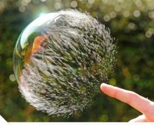 Buborékpukkasztás